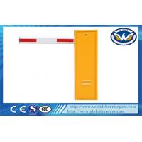 China Advanced Safety Manual Car Parking Barrier Gate With Double Limit Switches wholesale