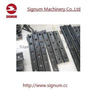 China Railway Fish Plate Tie Plate Rail Joint Bar wholesale