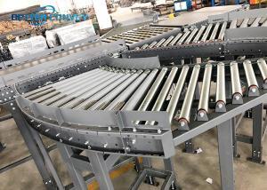 China 45 90 180 Degree Curve Conveyor Production Line wholesale