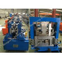 China Interchangeable C&Z Purlin Forming Machine , Purlin Roll Former High Capacity wholesale