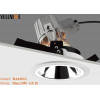 Buy cheap Adjust GU10 Indoor Lamp Mirror Reflector Recessed Indoor Light Fixture from wholesalers