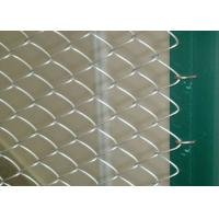 China Galvanized PVC Coated Wire Mesh Fencing For Baseball Fields / Sport Paddock wholesale