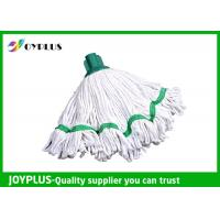 China Floor Cleaning Accessories Home Cleaning Mop / Microfiber Mop Heads Withe Color wholesale