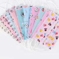 China Hygienic Colorful Childrens Disposable Face Masks CE FDA Certification wholesale