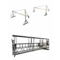 China 3 Phase Aerial Suspended Working Platform 415v 50hz With Over Load Cell wholesale