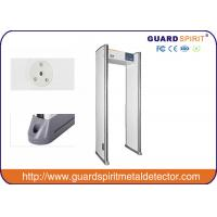 China Guard Spirit Walk Through Metal Detector Door Frame / Airport Security Detectors wholesale