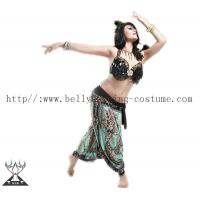 China Practice Stage Special Printing Tribal Belly Dance Pants Milk Silk Fabric wholesale