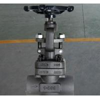 China Globe Bolted Bonnet Forged Steel Valve , Rising Stem Reduced Bore Valve F304 F316 A105 wholesale