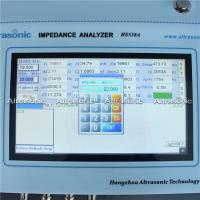 Buy cheap Touch Screen Ultrasonic Converter Impedance Analyzer Accurate Parameters Easy from wholesalers