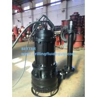 China BETTER Heavy Duty Submersible Slurry Pump For Mining Dredging Slurring wholesale