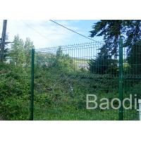 Highway Road Safety Green Wire Mesh Fence Semi Opaque With Low Carbon Steel