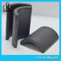 China Y30BH C5 C8 Grade Ferrite Arc Magnet For BLDC Ceiling Fan Motor Eco Friendly wholesale