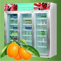 China Commercial Supermarket Beverage And Milk Display  Refrigerator  wholesale