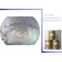 China Raw Steroid Powders 4-Chlorotestosterone Acetate Clostebol Acetate Turinabol CAS:855-19-6 wholesale
