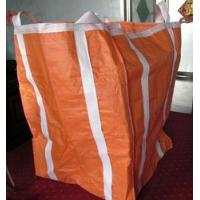 China Two Ton Loading Orange Big Bag FIBC With Four Loops 10'' High / Fully Belted wholesale
