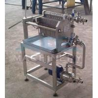 China Beer Honey Oil Plate and Frame Filter Press Machine and Price wholesale