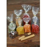 Snack Food OPP Square / Block Bottom Bags , Side Gusset Bag