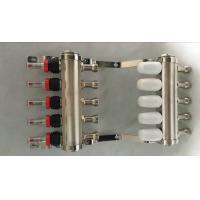 China Brass Water Manifold radiant heat  Quality classical floor heating system brass pex wholesale