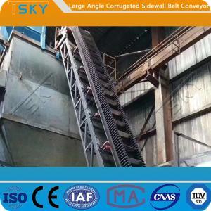 China B650 High Angle Belt Conveyor wholesale
