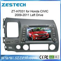 China ZESTECH touch screen gps oem in dash dvd Car stereo for Honda Civic left hand driving 2006 2007 2008 2009 2010 2011 on sale