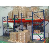 China Warehouse steel rack push back pallet racking wholesale