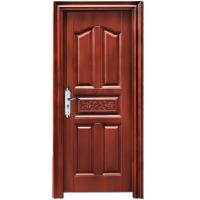 China 30 x 78 cheap exterior steel door, delicate steel security door for house wholesale