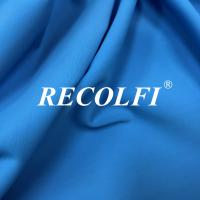 China Woven Stretch Twill Elastic Repreve Recycled Polyester Fibers With Soft Skin Feeling wholesale