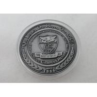 2D or 3D Personalized Coins / School Campus Coin with Antique Silver, Anti Nickel, Anti Brass Plating