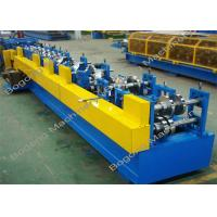 Quality Steel C / Z Purlin Roll Forming Machine Automatic Type With PLC Display for sale