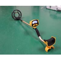 China Yellow Hand Held Metal Detector With LCD Display Detecting Pipelines wholesale