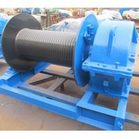 China Industrial Electric Winch High Speed For Crane , Electric Hoist Lifting Winch wholesale