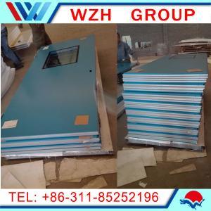 China steel door / prefabricated door dimensions / cold room sandwich panel wholesale