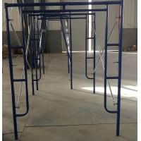 Buy cheap Q345 Powder coated Mason Frame Scaffolding H ladder frame in construction from wholesalers