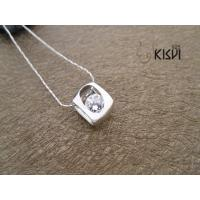 China Customed shape and size 925 sterling silver gemstone pendant as gift to friends W-VB926 wholesale