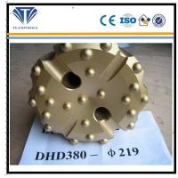 China Gold concave spherical  8 inch DTH drilling  tools of  DHD380  drill bit 219 mm wholesale