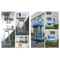 China Four Mast Two Men Work Aluminum Work Platform 8m Height 480kg Load Capacity wholesale
