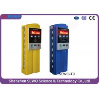 China Stainless Steel and Tempered Glass RFID Parking Ticket Machine on sale