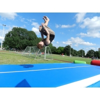 China OEM 0.9mm PVC Gymnastics Tumbling Inflatable Air Track Mats wholesale