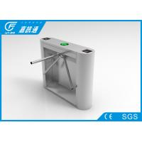 Buy cheap Factroy Entrance Pedestrian Security Gate , Residence Area Waist Height Turnstile from wholesalers