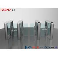 China Smart Speed Pedestrian Access Control Barriers Turnstile Rfid Security Gate Barrier wholesale