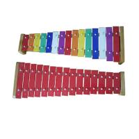 China Aluminium Board Xylophone Kids Music Instruments 15 Tunes Colorful Percussiion Toy wholesale