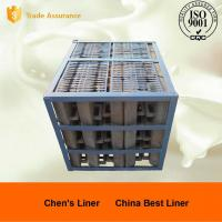 China Cr15Mo3 320 / 580 Grinding Ball Steel Mill Liners Abrasion Resistance wholesale