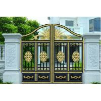 China Courtyard Gate garden plant accessories with Optional Model 120W 1200N 4.5m electric courtyard door carport wholesale