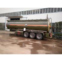 China 30 Tons Hydrochloric Acid Chemical Tanker Truck 28600 Liters 3 Axle Chemical Tank Trailer wholesale