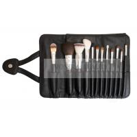 China High Quality 12PCs Synthetic Hair Makeup Brushes With Magnetic Pouch wholesale