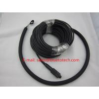China Waterproof Fiber Optic Network Cable , PDLC LC Duplex Patch Cord With Outer Nylon Net wholesale