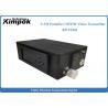 China Drone Helicopter Wireless Video Sender Receiver , 3-5 Watt Digital COFDM UAV Transmitter wholesale