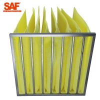Buy cheap Fiberglass Paint Pocket Filters , Bag Air Filter With Big Rated Air Flow from wholesalers