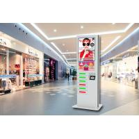 China 42 Inch LCD Digital Signage Cell Phone Fast Charging Station Kiosk  with 6 Secured Safe Doors wholesale