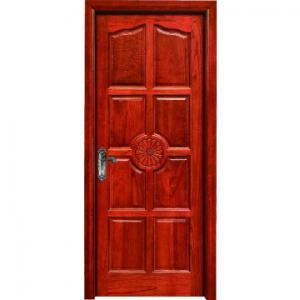 China hotel flush room door design MDF melamine door wood interior door wholesale